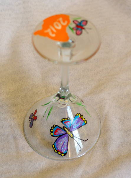 Cocktail Glasses:  Living Creatures